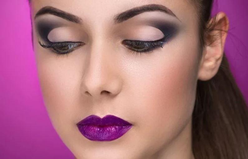 Вечерний макияж петля
