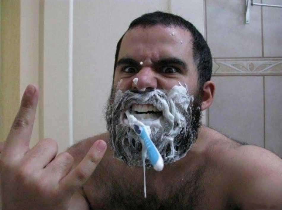 Муж в ванной
