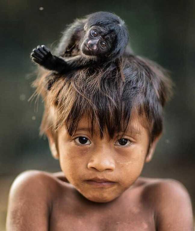 история о современном Маугли