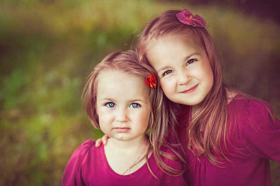 ссориться картинки две сестры старшая и младшая была