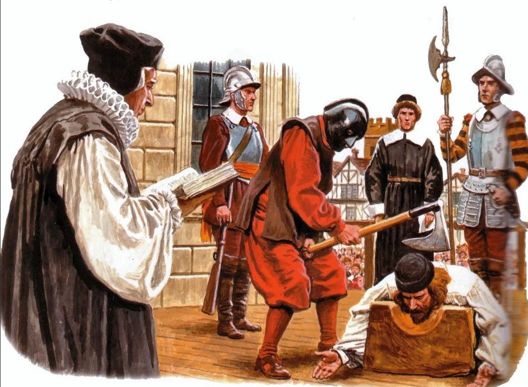 За какие нарушения можно было раньше заслужить смертную казнь