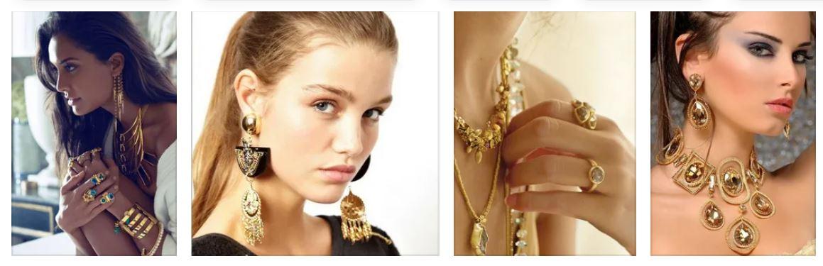 Модные золотые украшения какие